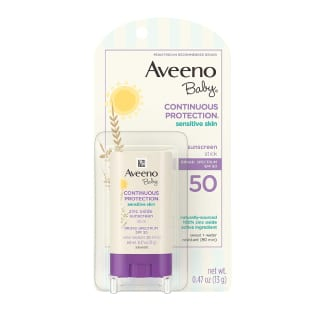 Aveeno Baby Continuous Protection Mineral sunscreen
