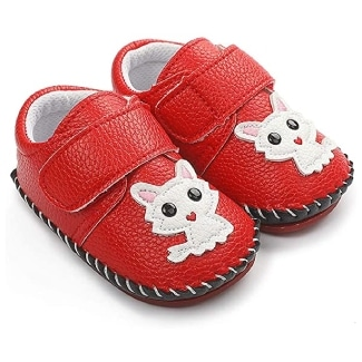 HsdsBebe Velcro Baby Shoes