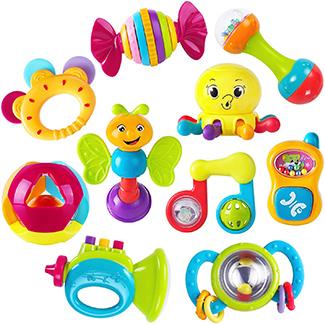 iPlay iLearn Educational Baby Rattle Toys