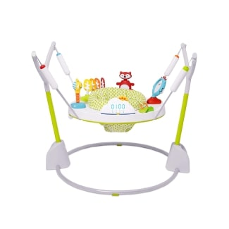 Skip Hop Baby Jumper: Jumpscape Fold-Away Jumper with Bounce Counter