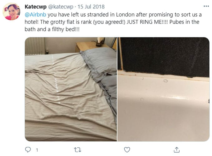 Airbnb Dirty Bedding, Linens