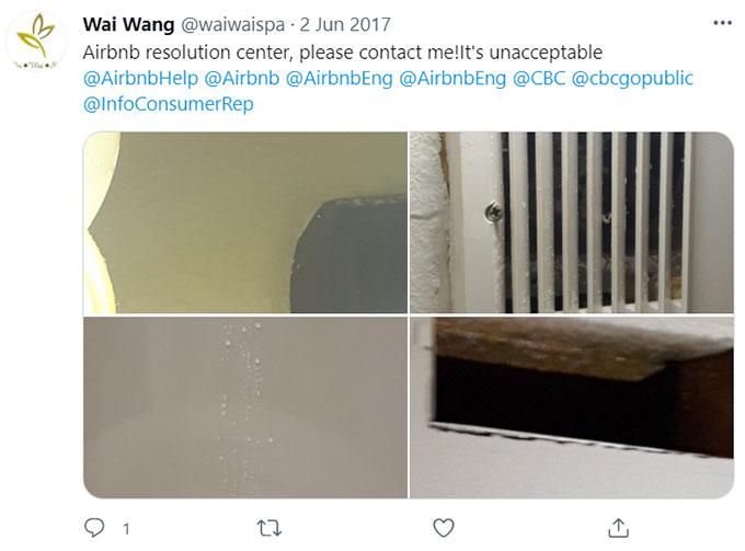 Airbnb Water Leaks