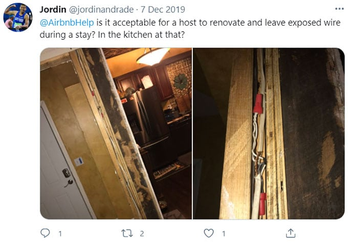 Airbnb Electrical Concerns
