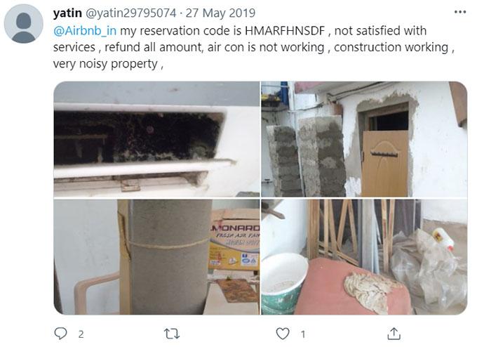 Airbnb Missing, Broken, Unsafe Appliances