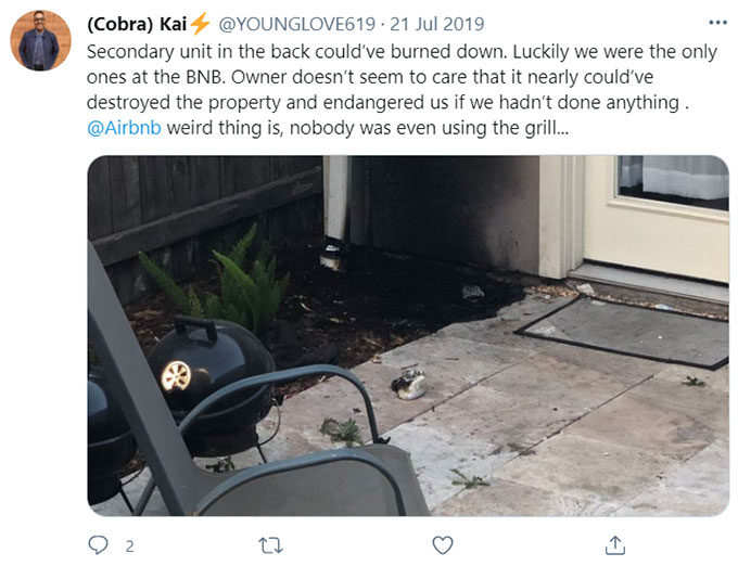 Airbnb Fires
