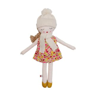 Hearts of Yarn Plush Autumn Doll