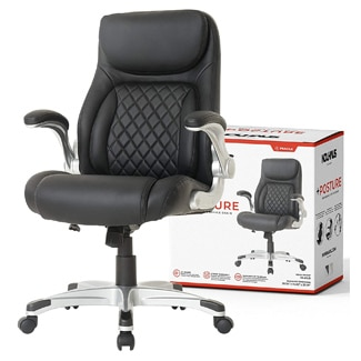 Nouhaus +Posture Ergonomic Leather Office Chair