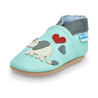 Juicy Bumbles Soft Sole Leather Baby Moccasins