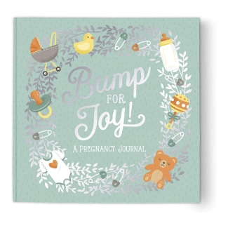 Studio Oh! Guided Pregnancy Journal: Bump for Joy