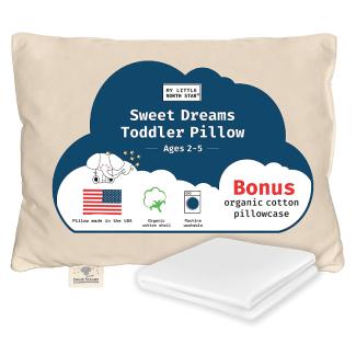 My Little North Star Organics Sweet Dreams Toddler Pillow
