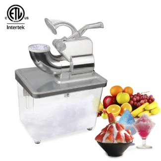 350W Commercial Removable Dual Blades Electric Ice Crusher