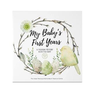 Wonderland Baby Memory Book Journal