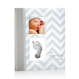 Pearhead First 5 Years Chevron Baby Memory Book