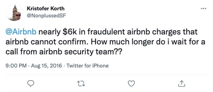 airbnb account hacked for $6,000