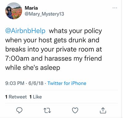 drunken airbnb host